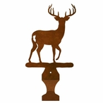 Deer Metal Drape Rod Holders