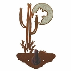 Burnished Desert Moon Metal Robe Hook