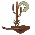 Burnished Desert Moon Metal Toilet Paper Holder