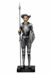 Don Quixote Standing with a Sword Sculpture