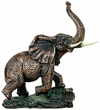 Elephant Statue - Copper Finish