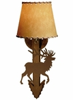 Elk Arrow Metal Wall Sconce