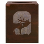 Elk Metal Boutique Tissue Box Cover