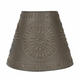 extra large pinwheel tin lamp shade rustic brown lamp accessories. Black Bedroom Furniture Sets. Home Design Ideas