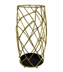 Gold Twig Iron Umbrella Stand