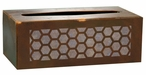 Honeycomb Metal Flat Tissue Box Cover