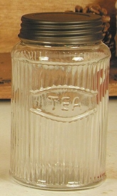 Hoosier Glass Tea Jar