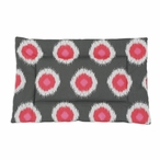 Ikat Dot Flamingo Single Channel Padded Pet Mat