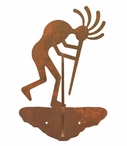 Kokopelli Double Metal Wall Hook