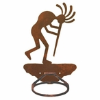 Kokopelli Metal Bath Towel Ring