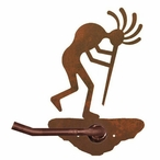 Kokopelli Metal Toilet Paper Holder