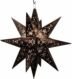 Large Moravian Lighted Star