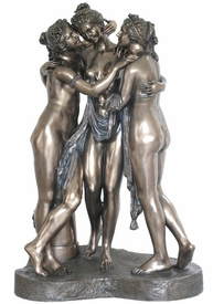 Large The Three Graces Sculpture