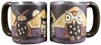 Mara Stoneware Round Mug 16oz - Night Owls