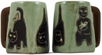 Mara Stoneware Square Mug 12oz - Cats