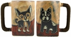 Mara Stoneware Square Mug 12oz - Puppies