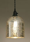 Mercury Glass Montreal Pendant Lamp Light