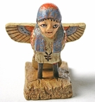 Miniature Ba Bird Human Soul Egyptian Statue