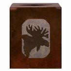 Moose Metal Boutique Tissue Box Cover