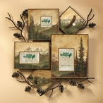 Mountains and Eagle Wall Collage Picture Frame