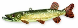Mr. Pike Northern Pike Fish Sculpture