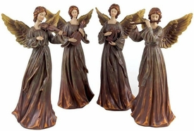 Music Angel Sculpture, Set of 4