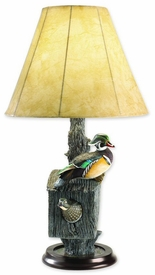 Nesting Wood Duck Lamp
