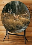 October Mist Deer Folding Table