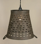 Olive Bucket Pendant Lamp Light