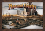 Pheasant Country Framed Wall Mirror