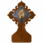 Picture Jasper Stone Double Metal Wall Hook