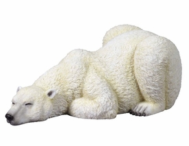 Polar Bear Sleeping Sculpture