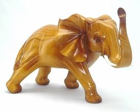 Polyresin Light Brown Elephant Statue