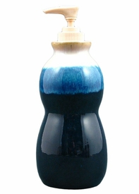 Prado Stoneware Soap Pump - Royal Blue