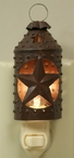 Primitive Rust Paul Revere Western Star Metal Night Lights, Set of 6