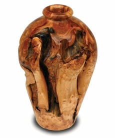 Root Wood Small Urn