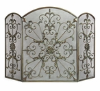 Royal Iron Fireplace Screen