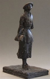 School Girl Statue by Edgar Degas