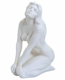 Sculpted Nude Female Porcelain Sculpture - 082