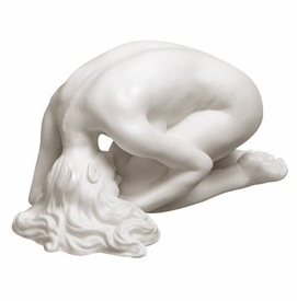 Sculpted Nude Female Porcelain Sculpture - 083