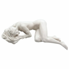 Sculpted Nude Female Porcelain Sculpture - 093