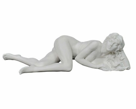 Sculpted Nude Female Porcelain Sculpture - 30106
