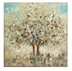 Seasons Tree Hand Painted Oil Canvas Painting