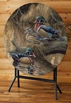 Sitting Pretty Wood Ducks Folding Table