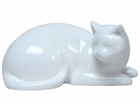 Sleepy Cat Sculpture