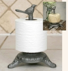 Songbird Iron Twine Toilet Paper Holders, Set of 2