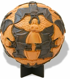 Sphere Angels And Devils Tessellation Statue by Escher
