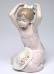 Spring Day Dream Porcelain Sculpture
