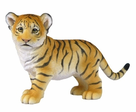 Standing Tiger Cub Sculpture