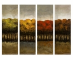 The Four Seasons Four Canvas Oil Painting